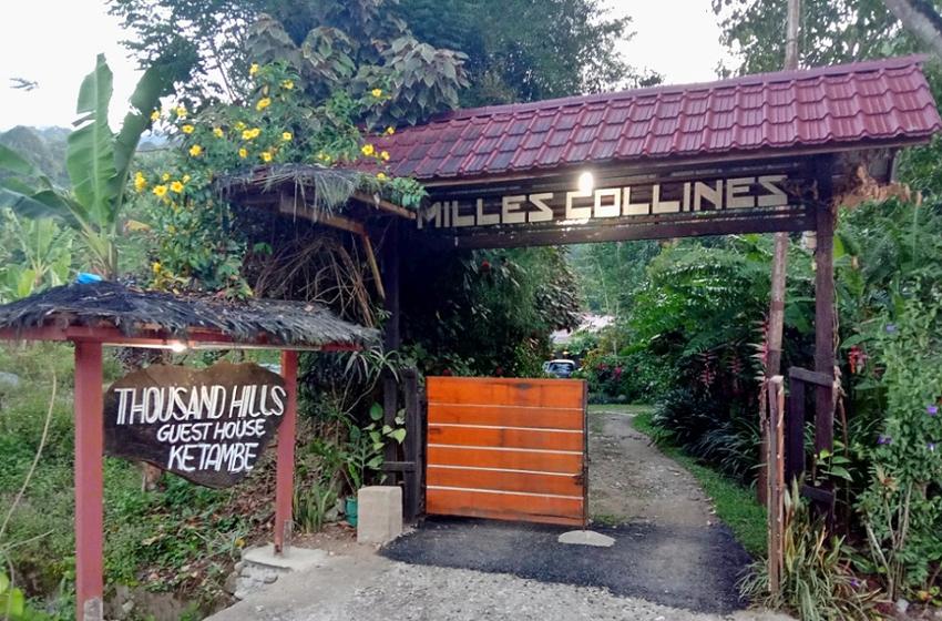 Thousand Hills Ketambe sebuah penginapan di Desa Balailutu, Jalan Blangkejeren – Kutacane No. km 32, Kecamatan Ketambe, Kabupaten Aceh Tenggara ibukota Kutacane. (Foto Monang Sitohang)