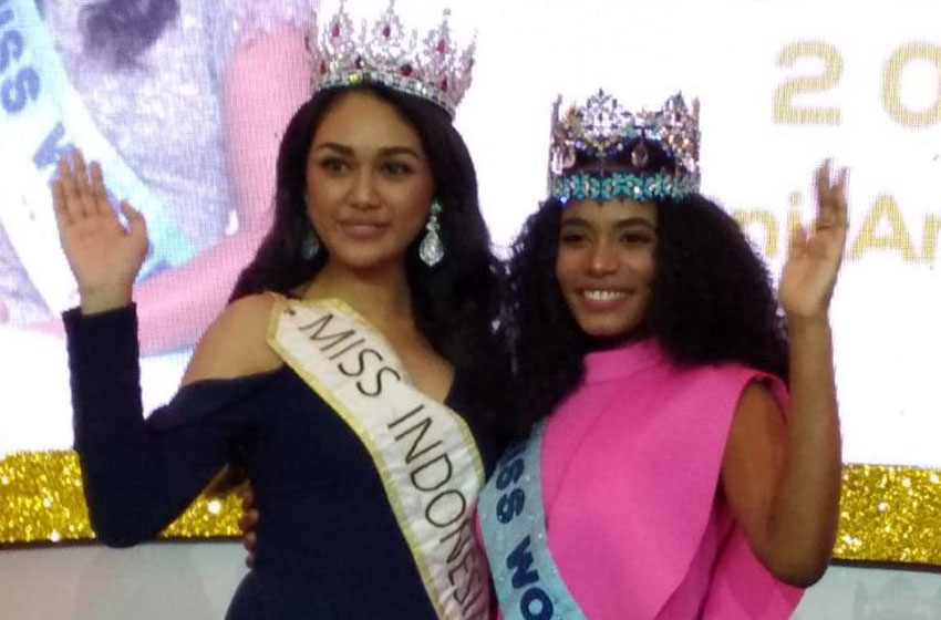 Miss World 2019 Tony Ann Singh  Suka Gado Gado