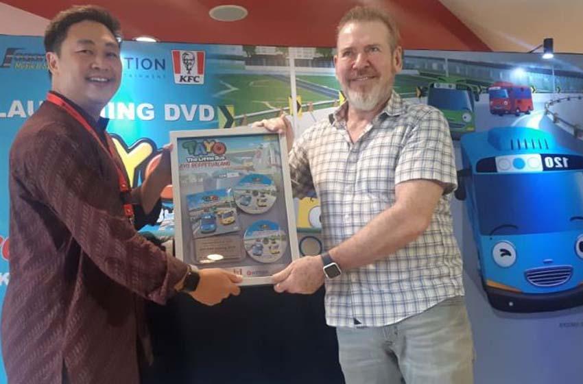 DVD 'Tayo – Ayo Berpetualang' Diluncurkan