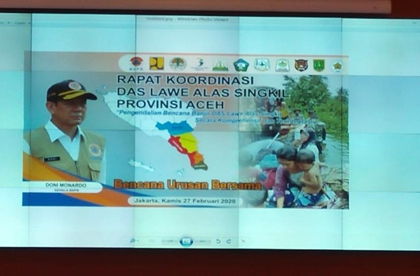 Solusi Permanen Banjir DAS Lawe Alas Singkil