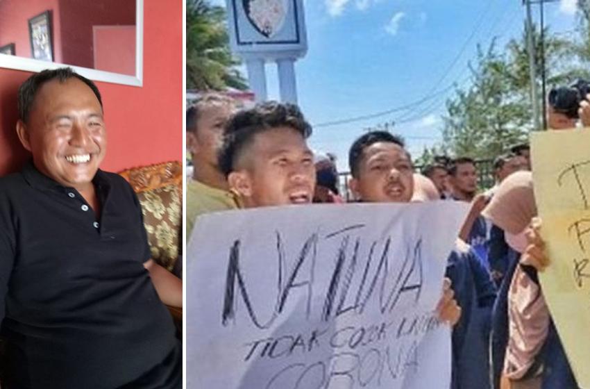 Ironi di Balik Demo Corona Natuna