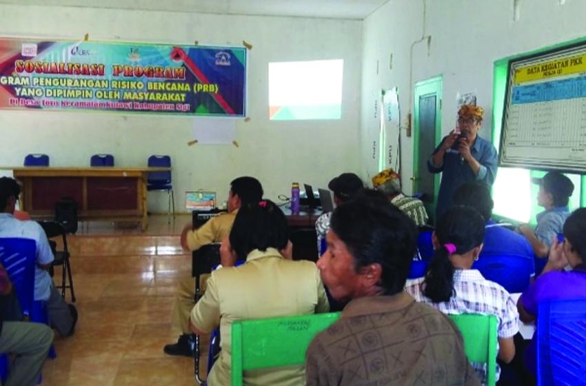 YPI dan CRS Bentuk Kelompok Siaga Bencana di 5 Desa Kecamatan Kulawi