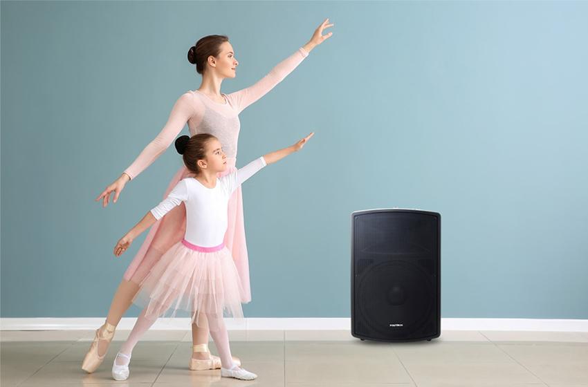 Speaker Powerful tanpa Listrik untuk Indoor dan Outdoor