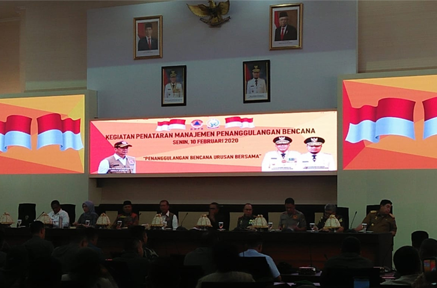 Penataran Manajemen Penanggulangan Bencana di Makassar