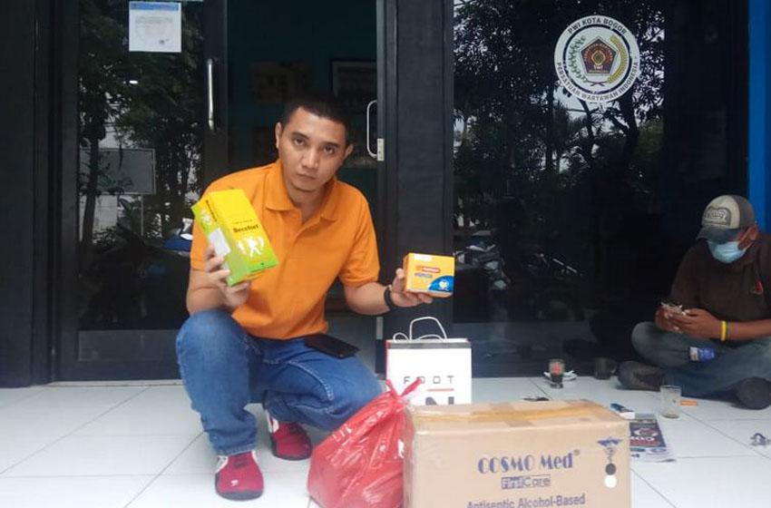 PWI Peduli Pusat Kirim Bantuan ke PWI Kota Bogor