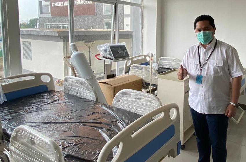 BUMN Suplai RS Darurat Covid-19