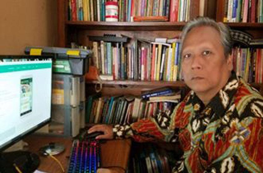 Ahmad Fachrudin, Anggota Forum Kewaspadaan Dini Masyarakat (FKDM) DKI Jakarta –foto istimewa
