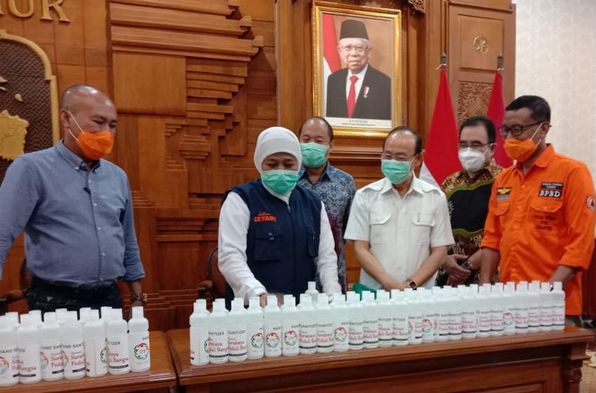SPB Sumbang 10.000 Hand Sanitizer