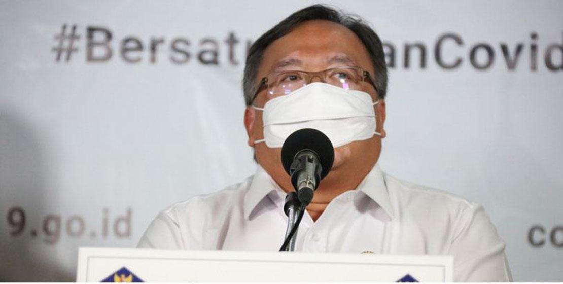 Menteri Riset dan Teknologi dan Kepala Badan Riset Inovasi Nasional Bambang Brodjonegoro— foto Humas BNPB/M Arfari Dwiatmodjo