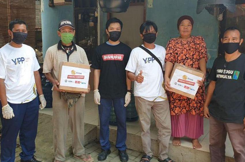 YPP Berikan Bantuan pada yang Terdampak Pandemi  Corona