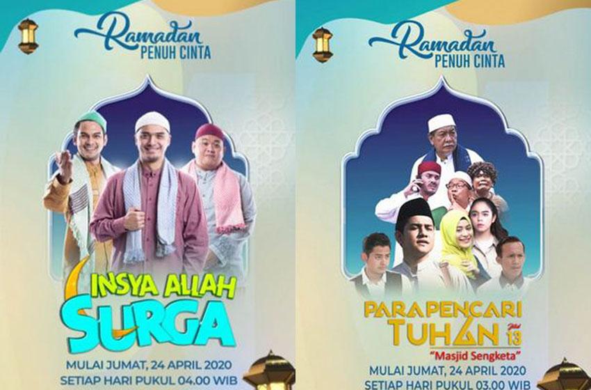 SCTV Suguhkan Program Ramadan 'Para Pencari Tuhan' 13 dan 'Insya Allah Surga'