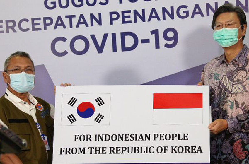 Komunitas Internasional Bantu Indonesia 77,49 Juta Dolar
