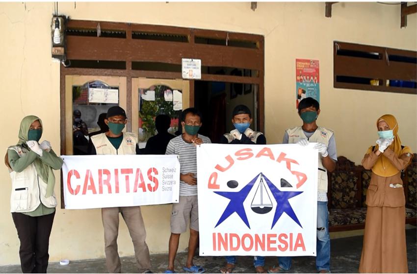 Peduli Corona, YPI Bagi Paket Kebersihan Keluarga