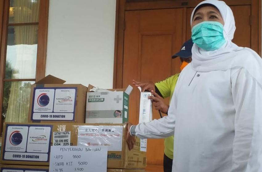 Kemenko Maritim dan Investasi Bantu APD Jatim