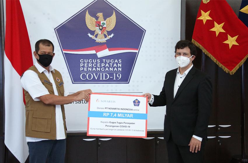 Novartis Bantu Penanganan Covid-19 di Indonesia