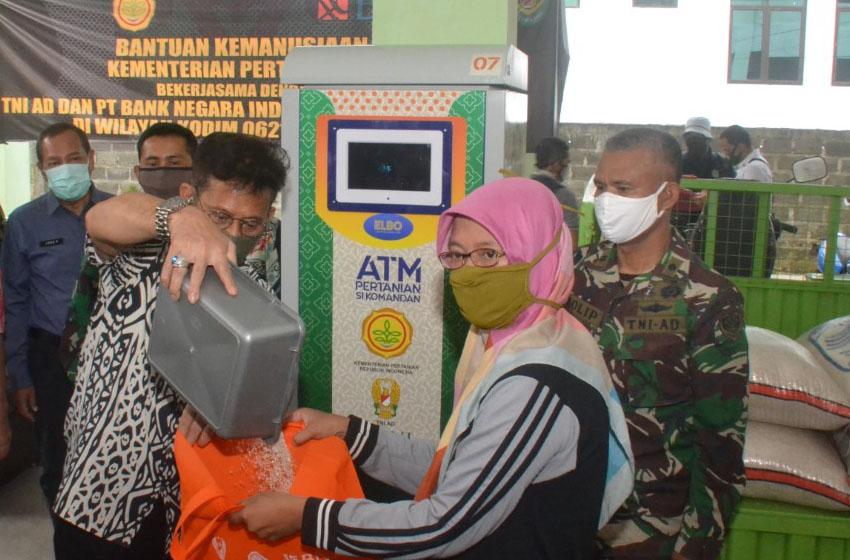 ATM Beras, Setiap KK Dapat Jatah 1,5 Kg