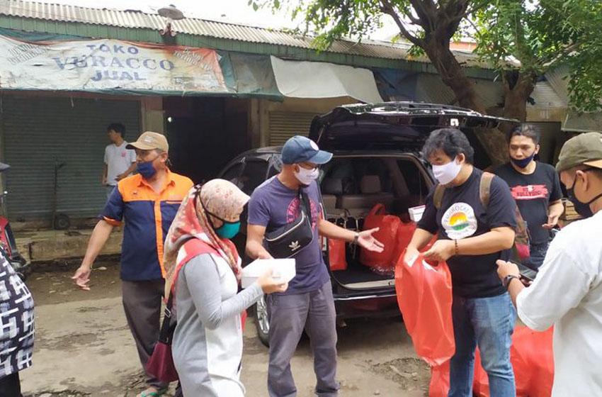 Kophi dan Fariz RM Gelar Aksi Kemanusiaan