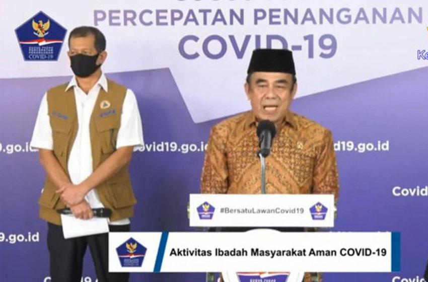 Kementerian Agama Terbitkan Panduan Kegiataan Keagamaan di Masa Pandemi