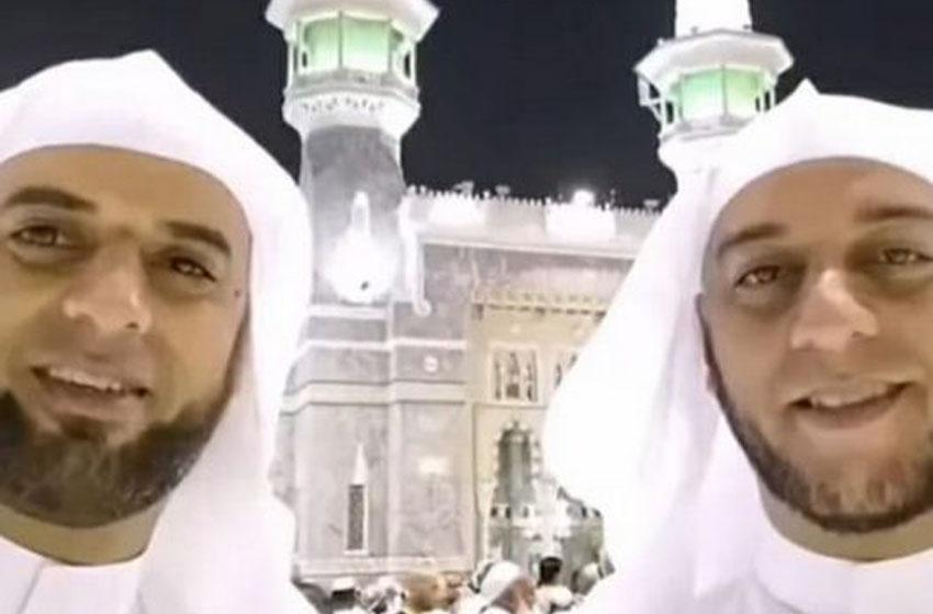 Ustad Syekh Ali Jaber dan Ustad Syekh Muhammad Jaber (foto instagram)