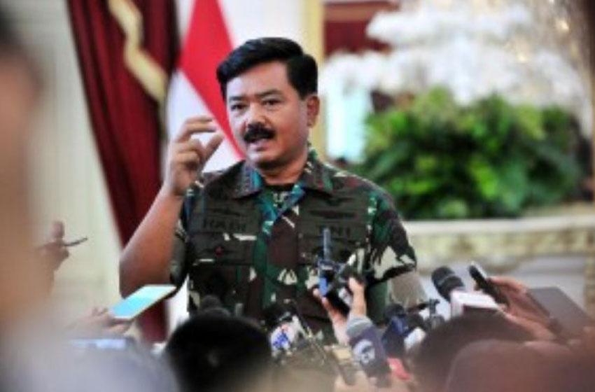 Panglima TNI Marsekal Hadi Tjahjanto –foto humas setkab