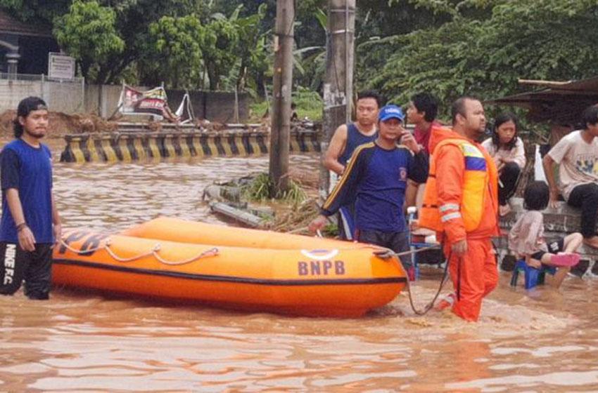 Banjir Rendam Wilayah Kota Cilegon