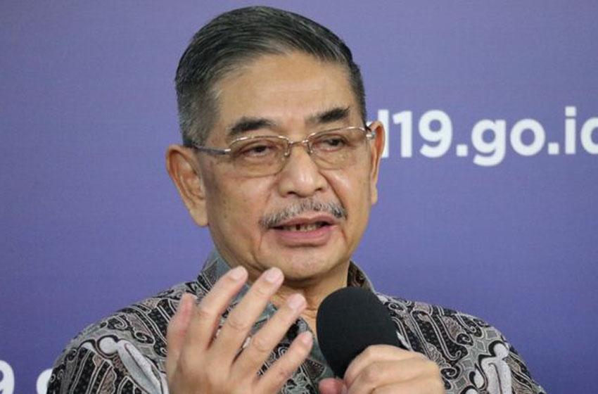 Direktur Lembaga Molekuler Eijkman, Prof. Amin Soebandrio–foto BNPB/Dume Sinaga