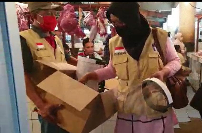 Pasar Tangguh (ketika) Ada Relawan