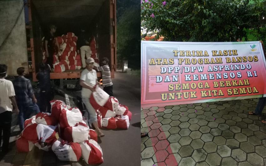 Ribuan Bansos Asprindo Diterima Masyarakat Bogor