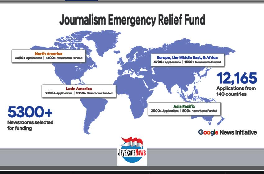 "Jayakarta News Terima ""Journalism Emergency Relief Fund"" Covid-19"