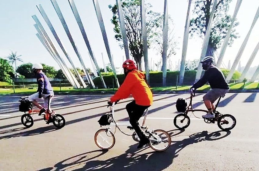 Semangat gowes di era new normal. (foto: egu)