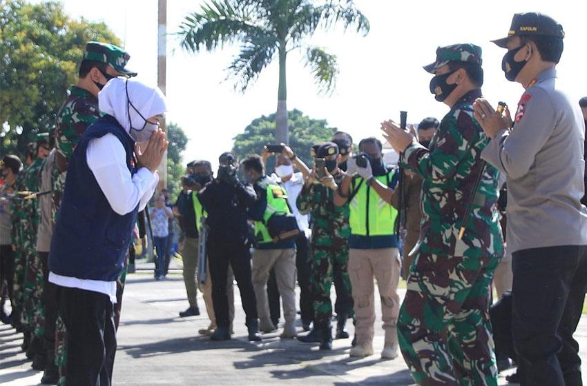 Panglima TNI dan Kapolri Turun ke Jatim
