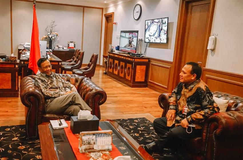 Panggil Ketua KPK, Mahfud MD Dorong Penegakan Hukum Tanpa Pandang Bulu