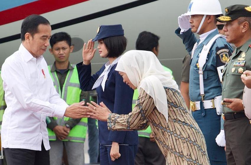 Khofifah Ucapkan Selamat Ultah kepada Jokowi