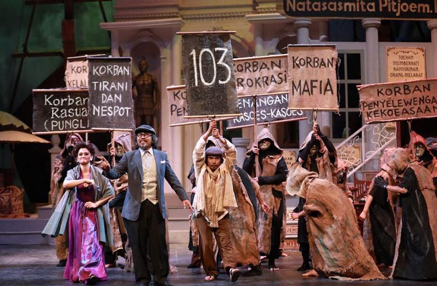 'Opera Ikan Asin', Raja Bandit Jadi Pahlawan