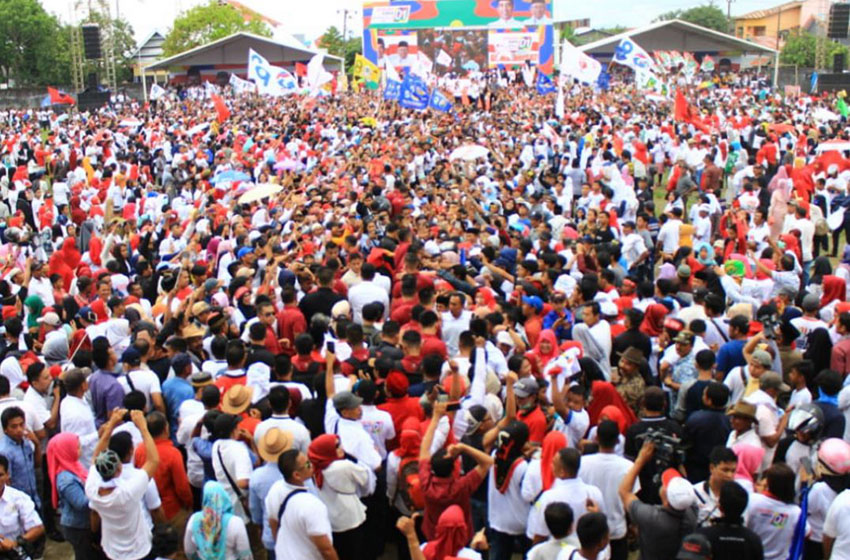 Soal Kerumunan dan Arak-arakan Pilkada,  KPU-Bawaslu Diminta Tegas