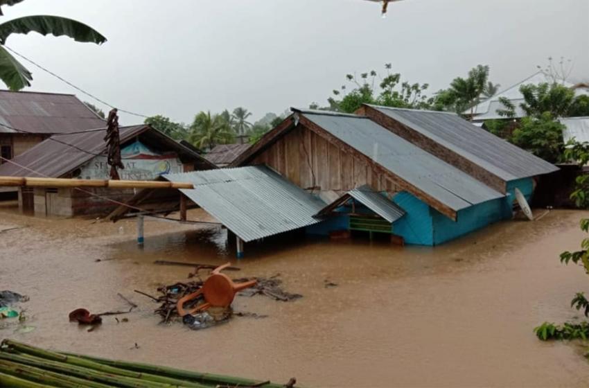 Banjir dan Longsor Terjang Bolaang Mongondow