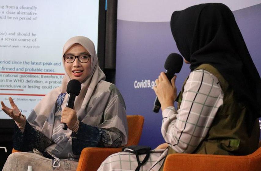 Dewi Nur Aisyah, Ahli Epidemiologi Tim Pakar Gugus Tugas Nasional–foto covid19.go.id