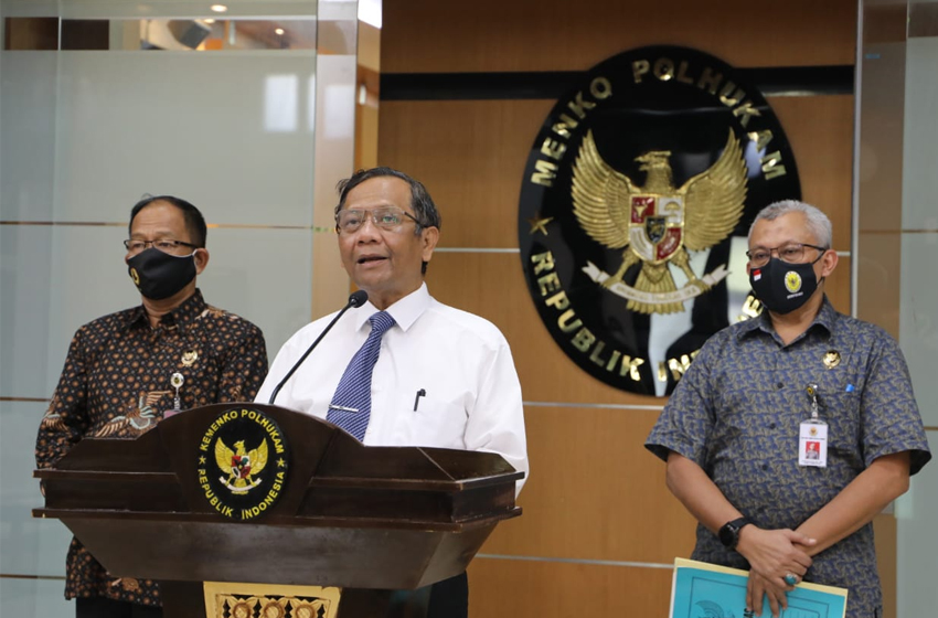 Mahfud MD: Aparat Terlibat Kasus Joko Tjandra Diusut Secara Pidana