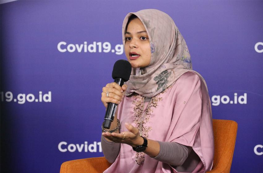 dr Zainah Fitriah. (foto: BNPB/M Arfari Dwiatmodjo)