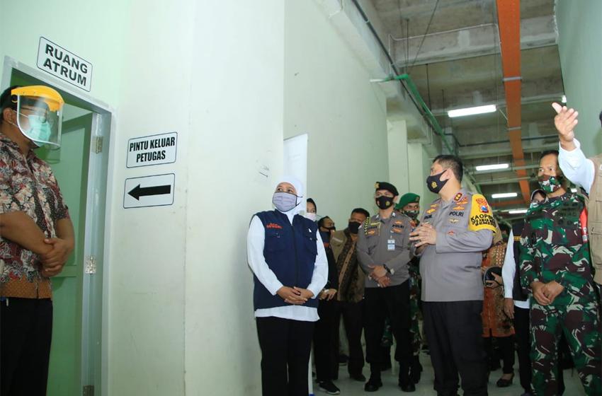 Stadion Joko Samudro Gresik Dijadikan Pondok Rehabilitasi Covid-19