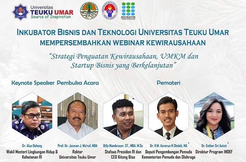 Webinar IBT – Universitas Teuku Umar