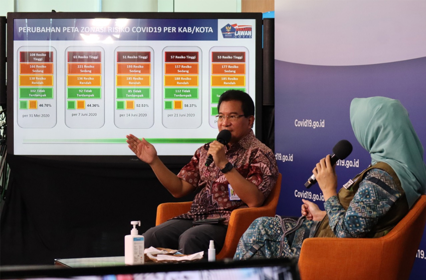 Prof Wiku Adisasmito, Ketua Tim Pakar Gugus Tugas Percepatan Penanganan Covid-19. (foto: BNPB/dume)