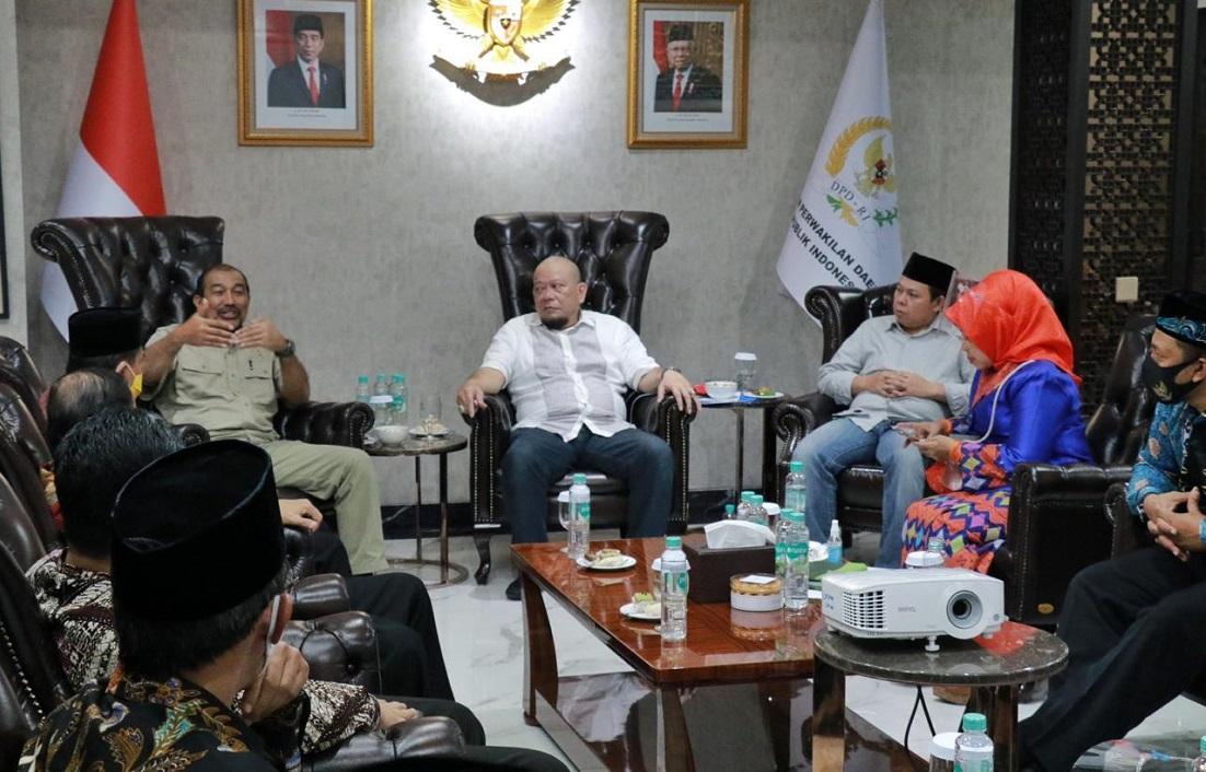 Sulit Buka Prodi Umum, 10 Rektor UIN Temui Pimpinan DPD