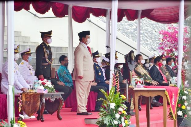 Menhan Prabowo: Indonesia Maju Harus Cetak SDM Andal