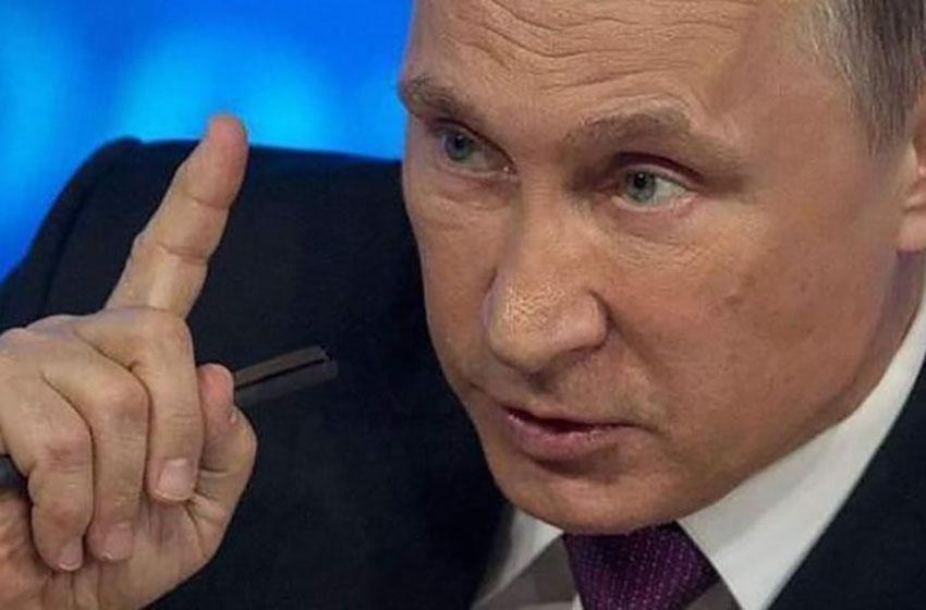 Vladimir Putin , Presiden Rusia–foto instagram Vladimir Putin