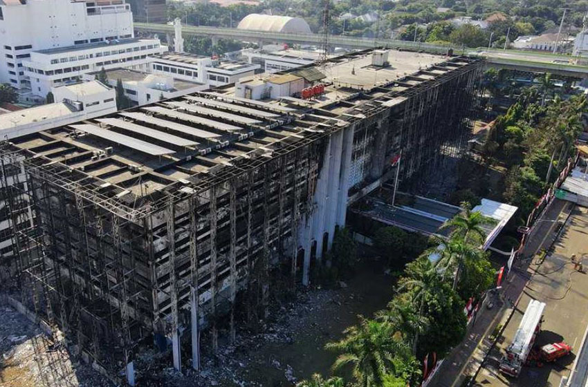 DPR Minta Penyebab Kebakaran Gedung Kejaksaan Agung segera Diungkap
