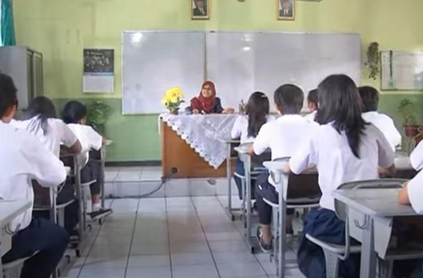 Sekolah-sekolah Gelar Simulasi Belajar dengan Metode Tatap Muka