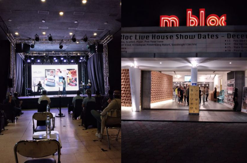 M Bloc Mengembangkan Area Fase Kedua