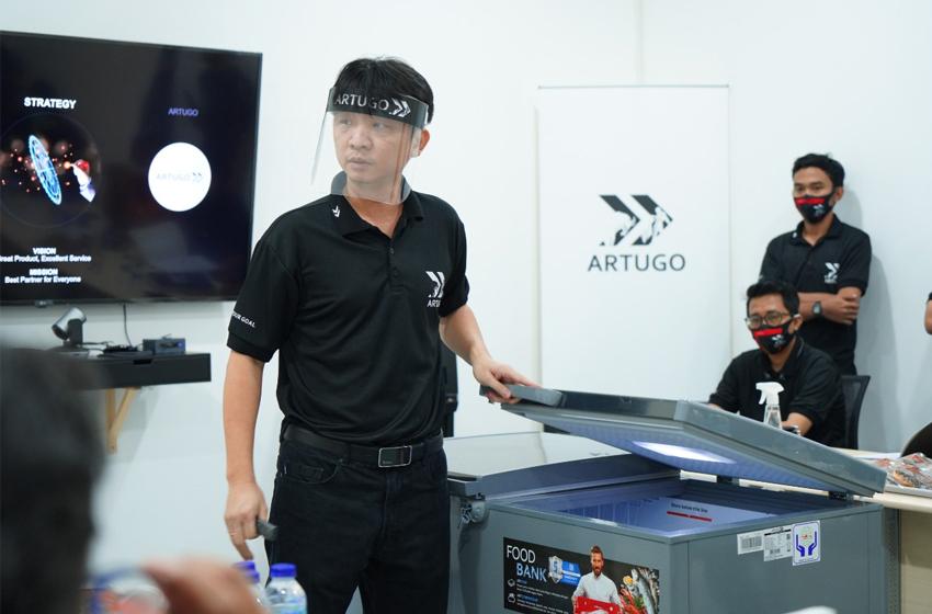 Robert Widjaja, CEO PT Kreasi Arduo Indonesia. (Foto: Artugo)