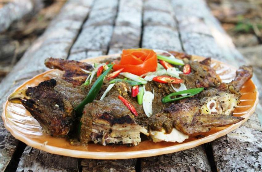 "Menu ""Manuk Pinadar"", kuliner khas Batak. (foto: dentist chef)"